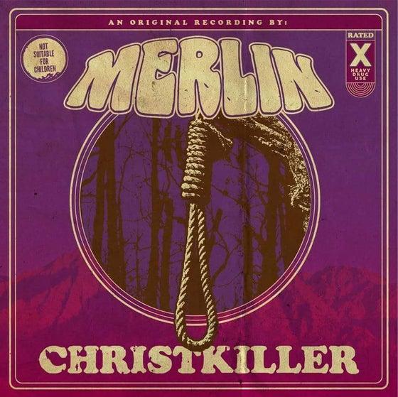 Image of Merlin - ChristKiller: Purple & White Split Color Vinyl 100 copies