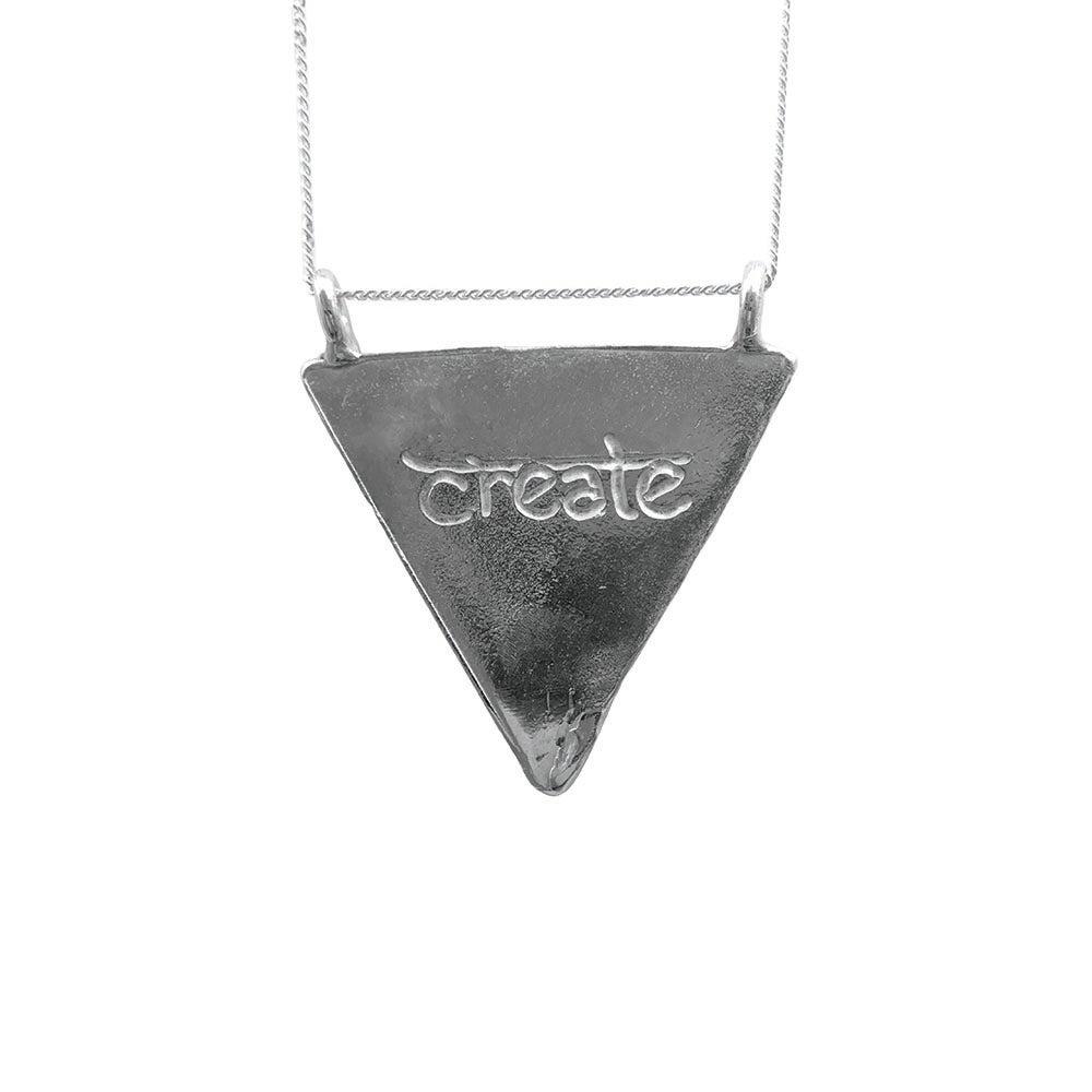 Image of Karmala Triangle Necklace Create