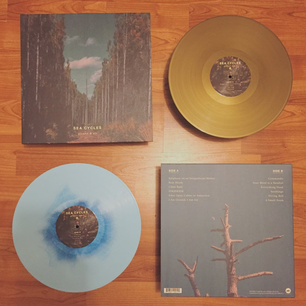 "Image of Sea Cycles - ground & air 12"" Vinyl"