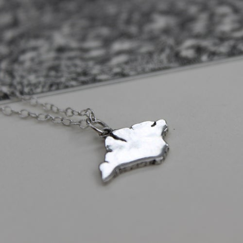 Image of Isle of Wight pendant necklace