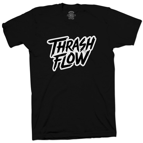 Image of Thrash Flow Logo T-Shirt (Black)