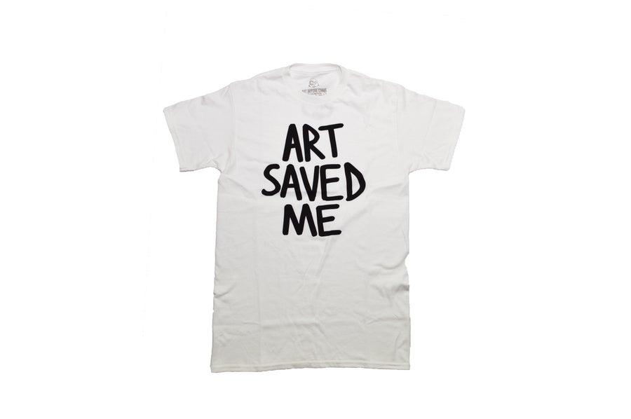 Image of Art Saved Me (White/Black)