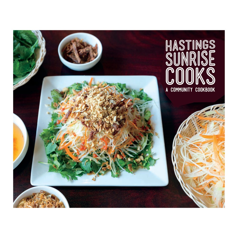 Image of Hastings Sunrise Cooks cookbook