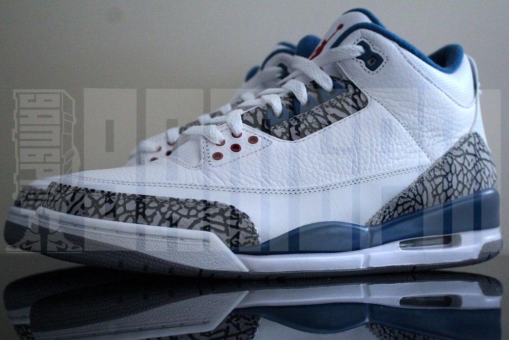 "Image of Nike AIR JORDAN 3 RETRO ""TRUE BLUE"""