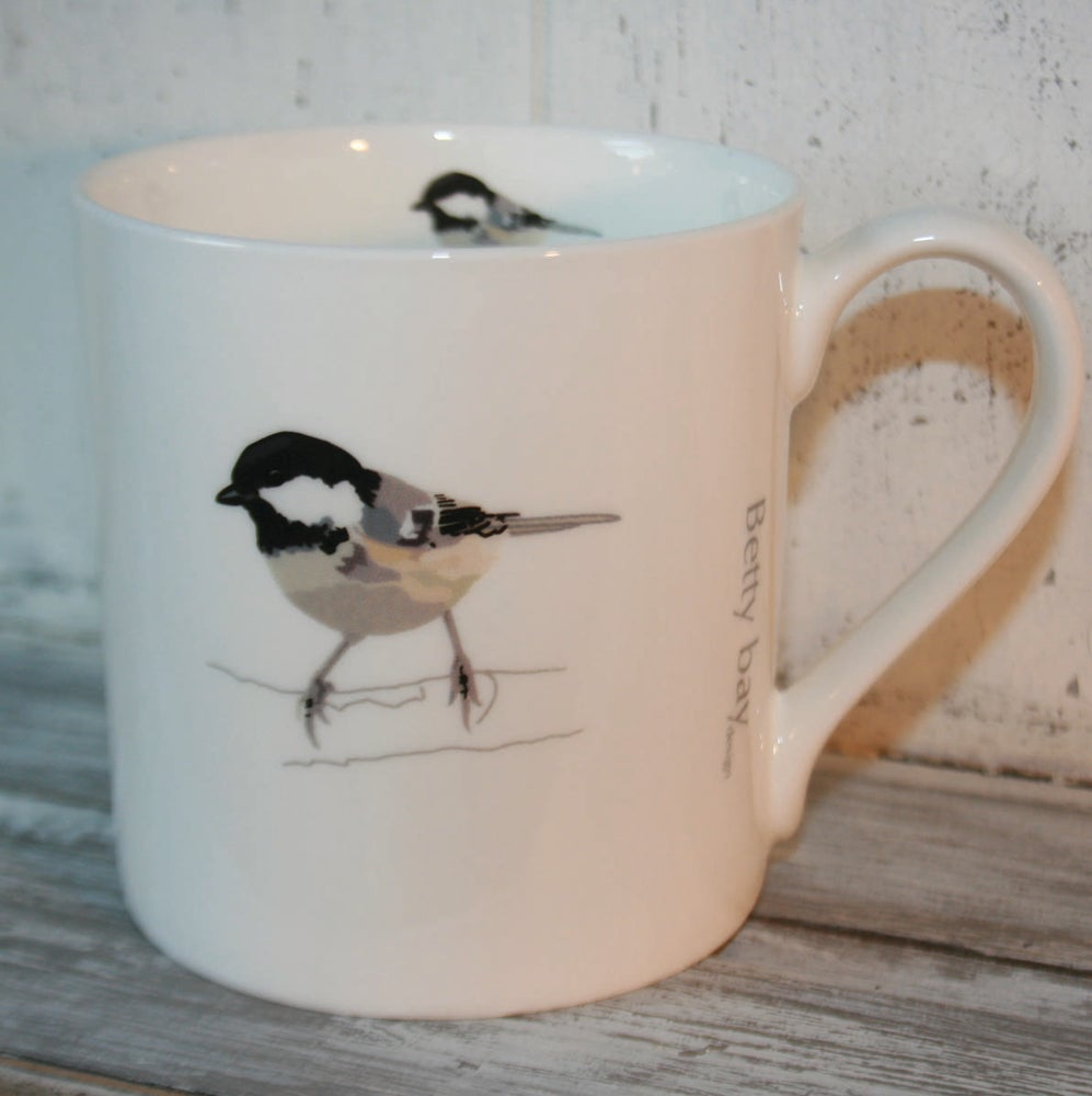 Image of Coal Tit English Fine Bone China Mug