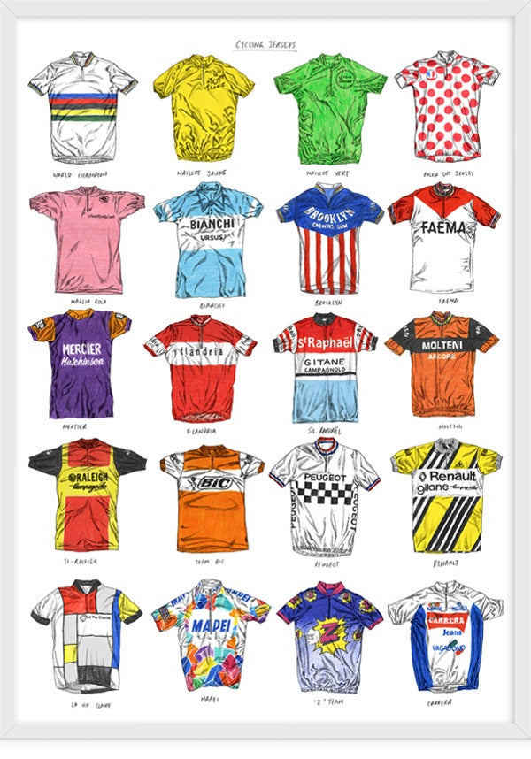 Image of Cycling Jerseys - 1st Edition