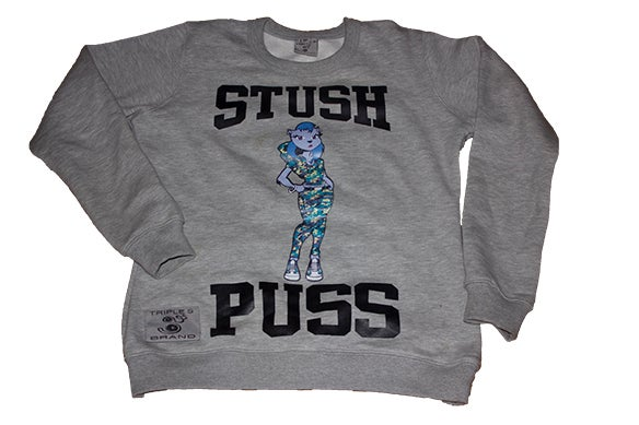 Image of Stush Puss sweatshirt