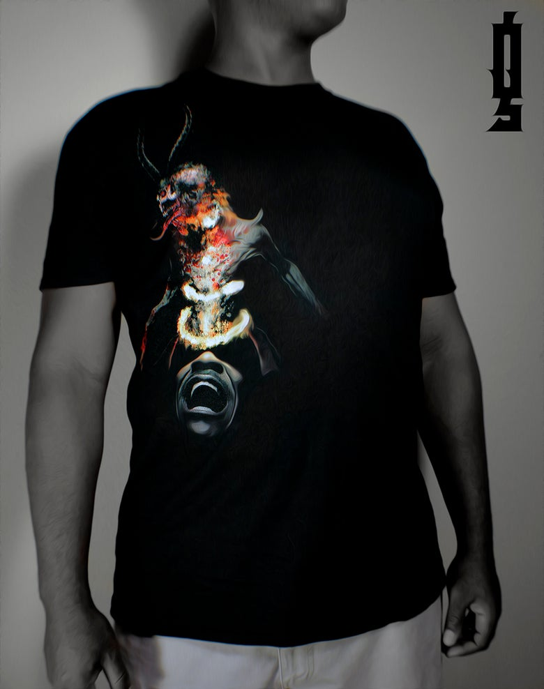 "Image of The Official ""Deceiver"" High Quality Full Color Tee Shirt $24.99"