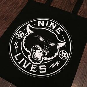 Image of Nine Lives Logo Tote Bag
