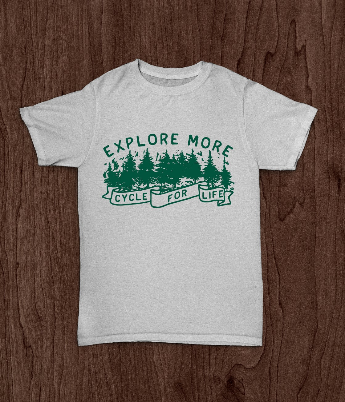 Image of Explore More - Forest Green