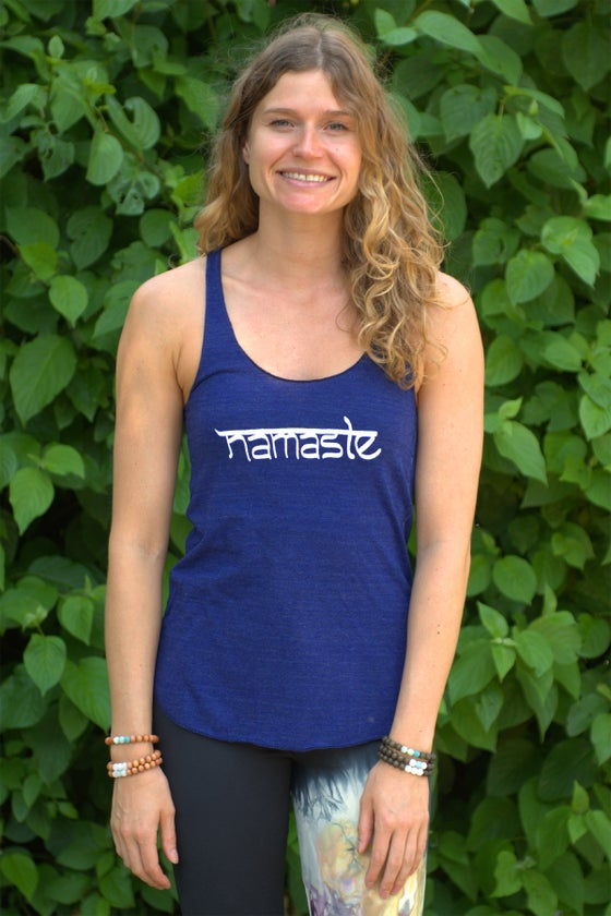 Image of Namaste Mantra Tank Top