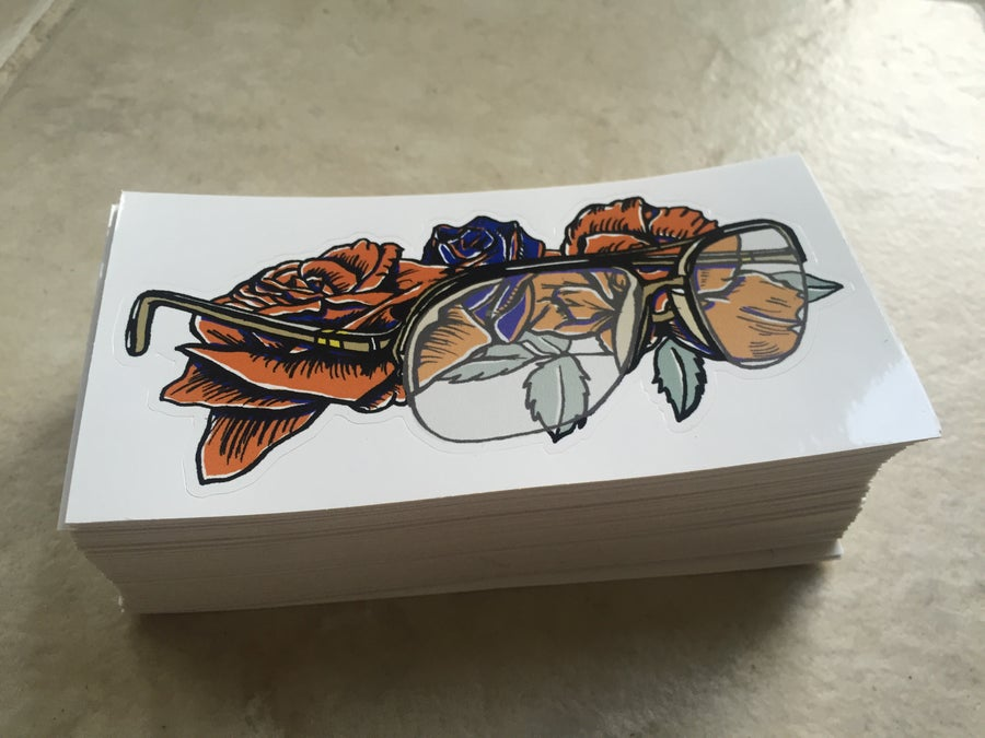 Image of Coach UV vinyl sticker