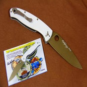 Image of TNP/Doodle Custom Resilience Folding Knife (1 of 30)