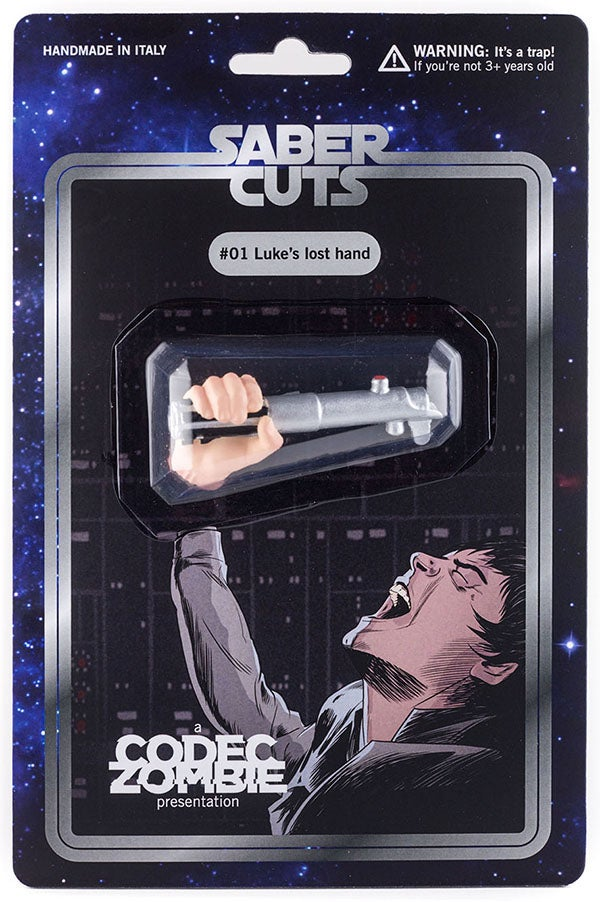 "Image of SABER CUTS #01 ""Luke's lost hand"""