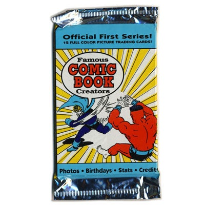 Image of FAMOUS COMIC BOOK CREATORS TRADING CARDS - 1992
