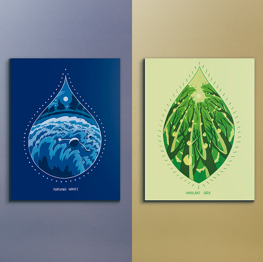 Image of Wanderlust Prints