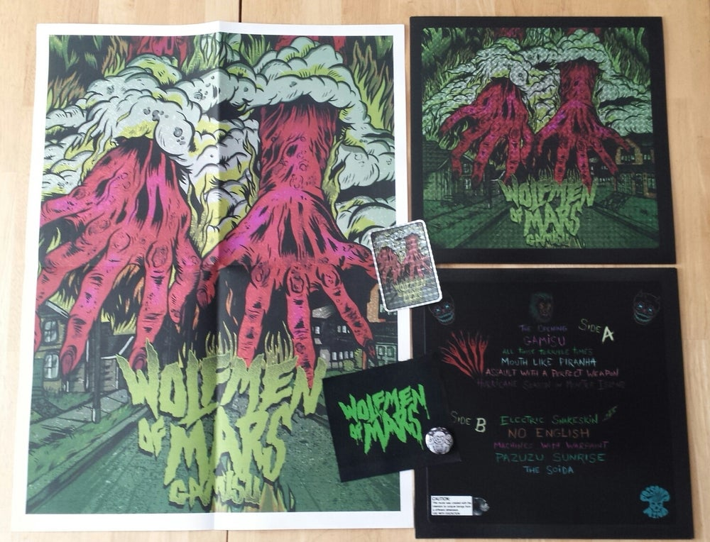 Image of Wolfmen of Mars: Gamisu (Black w/green splatter) Prism Cover 77 Copies (Sold Out)