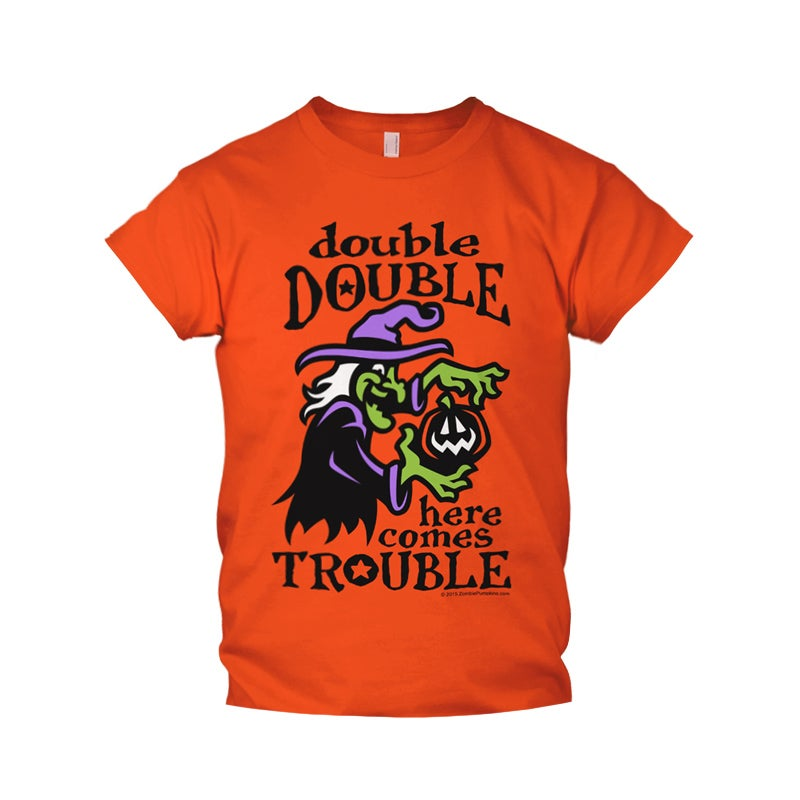 Image of Here Comes Trouble Kids T-Shirt