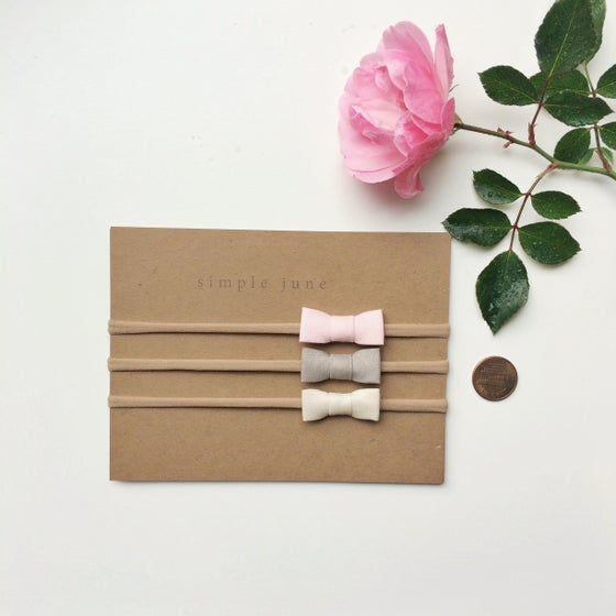 Image of Welcome Home Tiny Bow Set