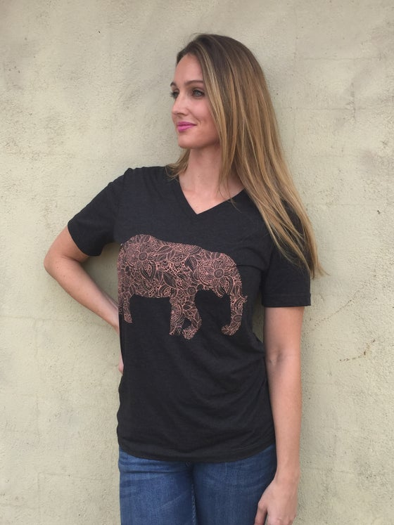 Image of Elephant Tee--Adult