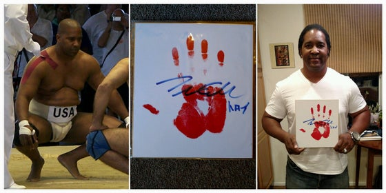 Image of Troy Collins Tegata (Autographed Hand Print)