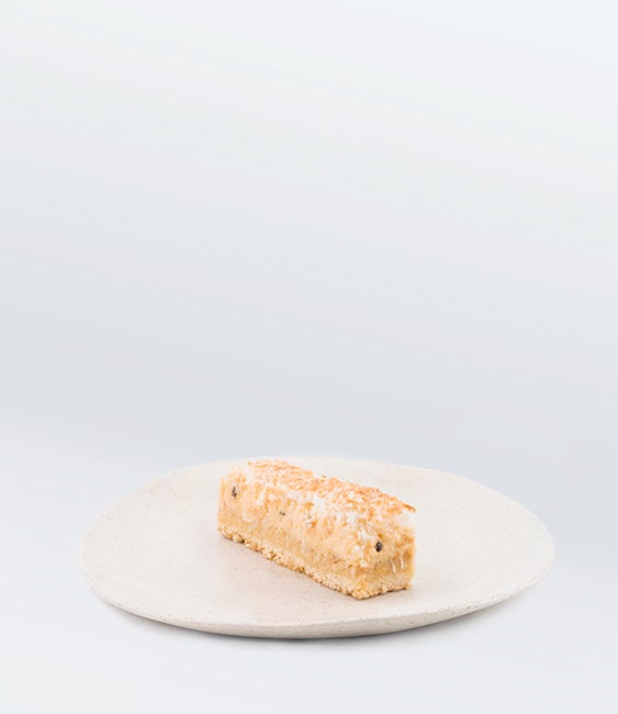 Image of Lemon, Passionfruit, and Coconut Slice