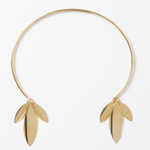 Image of Petite Open Leaf Collar