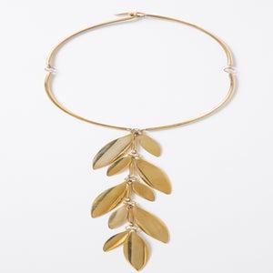 Image of Petite Hanging Leaf Necklace