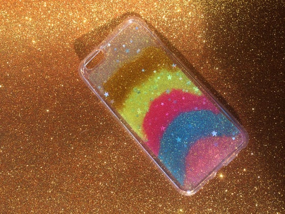 Image of iPhone 6 Plus 'Neapolitan Dream' Glitter Cover