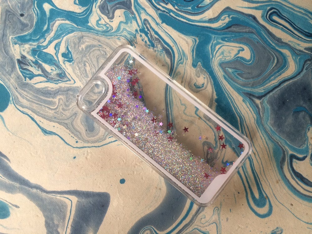 Image of iPhone 5 'Chasing Waterfalls' Glitter Cover