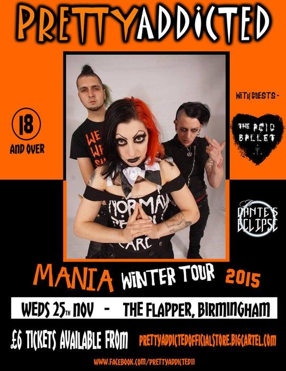 Image of Pretty Addicted in Birmingham- 25/11