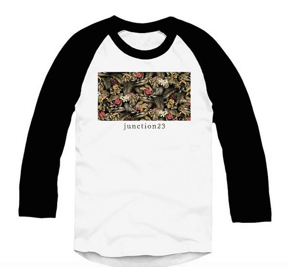 Image of J 2 3 Floral Raglan shirt