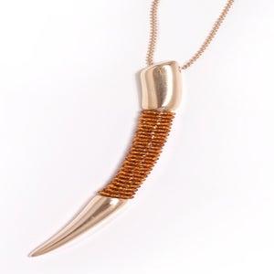 Image of Topaz Talon Necklace