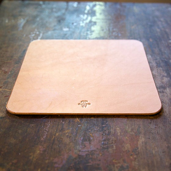 Image of Leather Mouse Pad