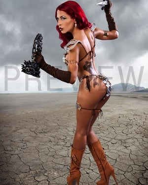 Image of Red Sonja Fight