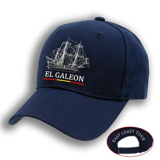 Image of El Galeon Navy Blue Cap