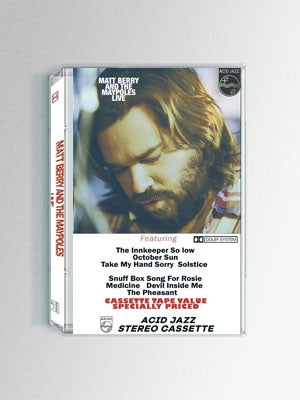 Image of Matt Berry & The Maypoles Live - Cassette Tape *Exclusive to Acid Jazz Records*