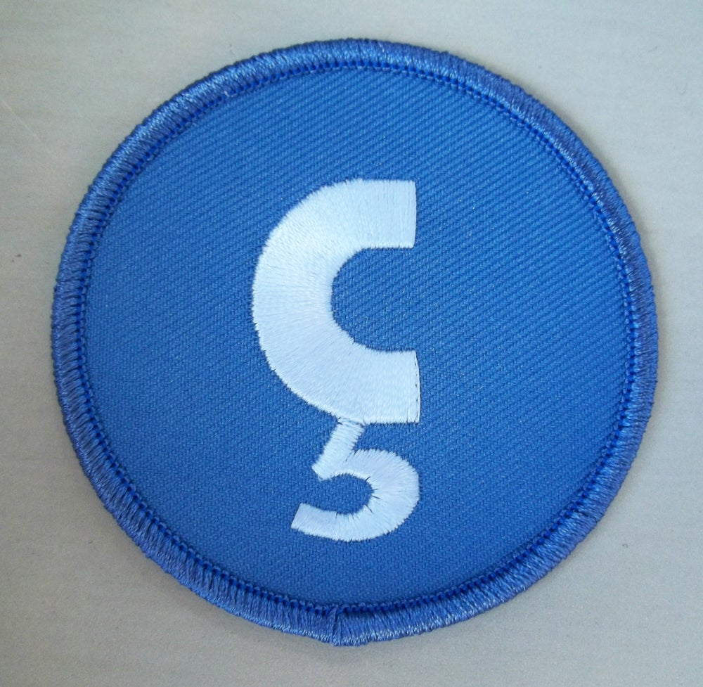 Image of Nuçi's Space Iron On Patch