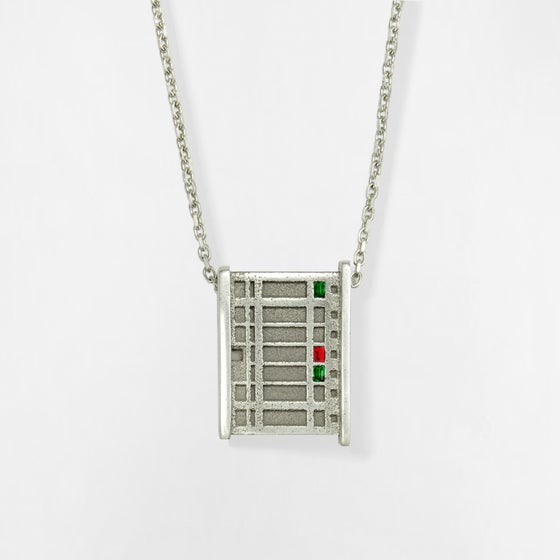 Image of Necklace BERLIN No.203              RUBIN