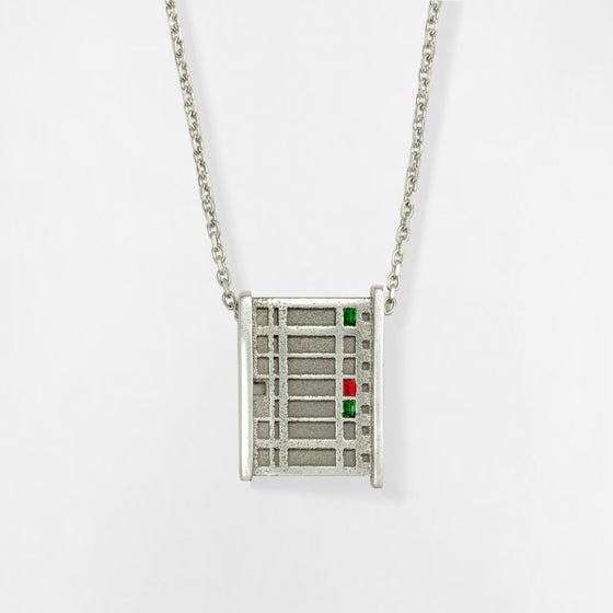 Image of Necklace BERLIN No.203              RUBIN
