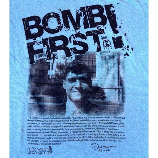 "Image of ""Bomb First"" Tee"