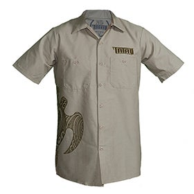 Image of Tatau Turtle Work Shirt Tan