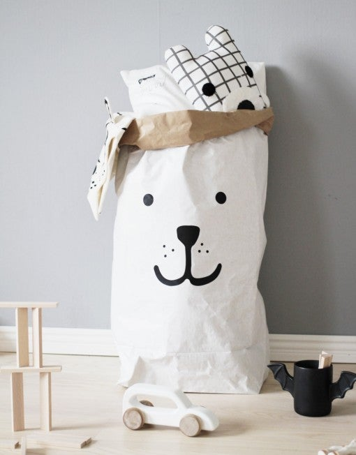 Image of Bear paper Bag