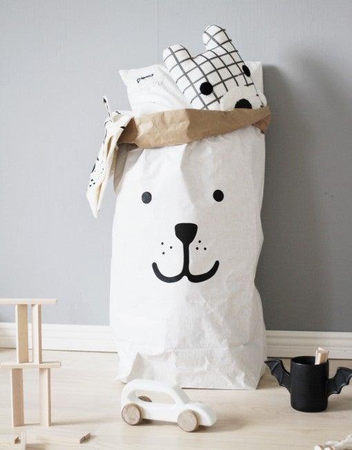 Image of Bear paper Bag