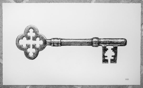 Image of Monfort's Key - Limited Edition Print