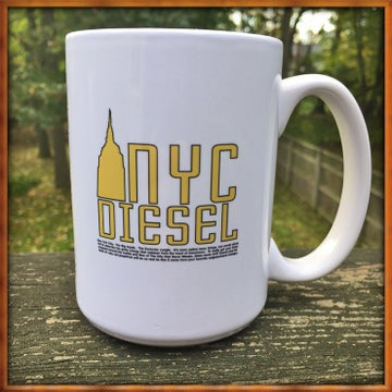Image of NYC Diesel Tree Mug
