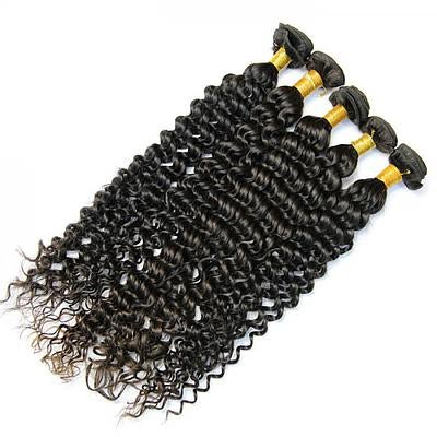 Image of Indonesia silk Deep Wave 12-28in. starting at $70