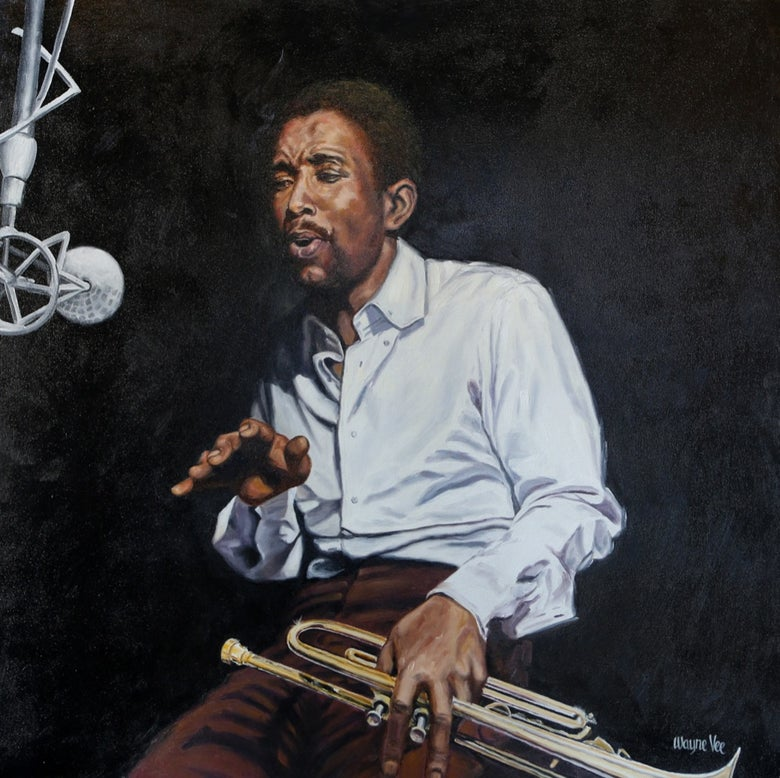 Image of Kenny Dorham • Original Oil Painting©