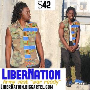 "Image of LiberNation Army Vest ""War Ready"""