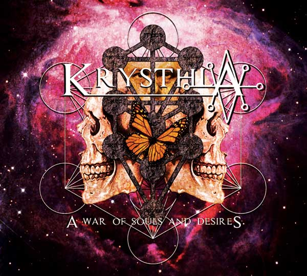 Image of A War of Souls and Desires - CD Album